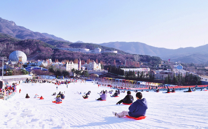 Seoulland sledding slopes (Credit: Seoulland)