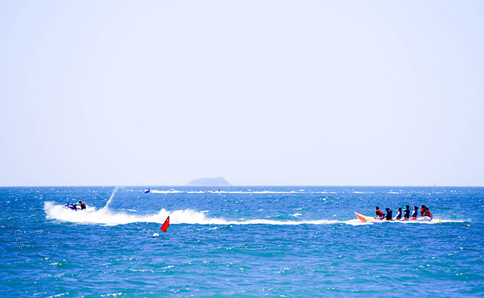 Daecheon Beach water sports activity