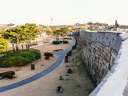Suwon. Time travel to the 18th century Korea.