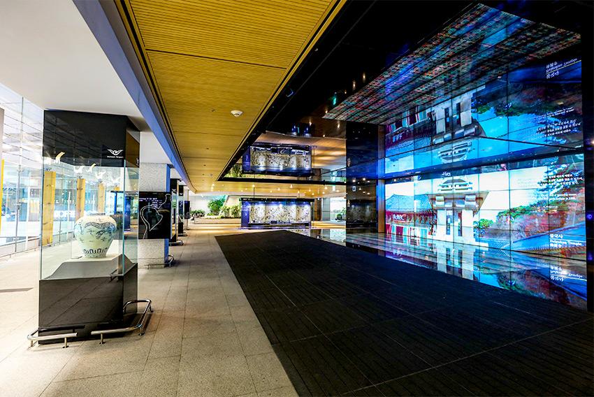 Rue de la culture coréenne à l'aéroport international d'Incheon (aut : Aéroport international d'Incheon)