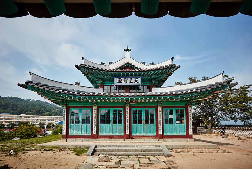 Eglise anglicane Ganghwa (aut : Office du Tourisme à Incheon)