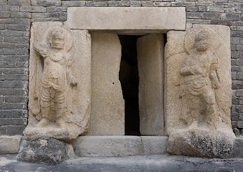 芬皇寺模磚石塔