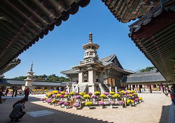 佛國寺風景