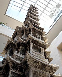 1国立中央博物馆里的敬天寺十层石塔