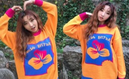 <strong>Minzy Updates Fans with Cute Selfies</strong>