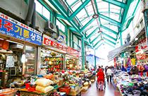 江陵 中央市場