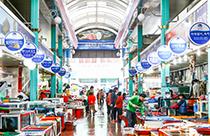 統営西湖市場&中央市場
