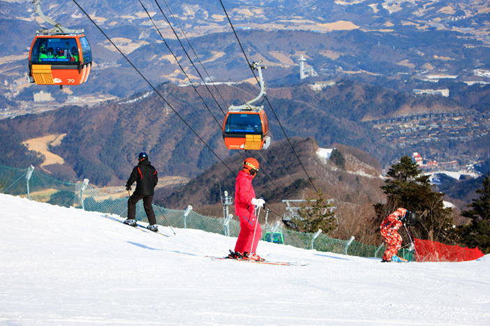 Snapshots from Yongpyong Resort