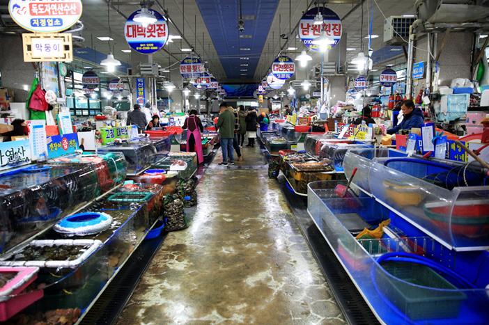 Yeosu Specialty Seafood Market