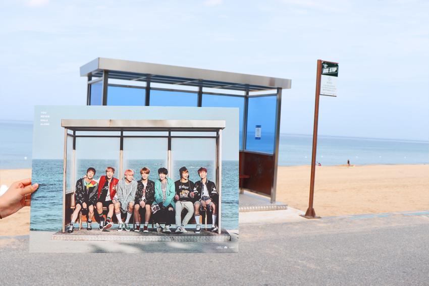 Parada de BTS y Playa Jumunjin (Cortesía: Big Hit Entertainment)
