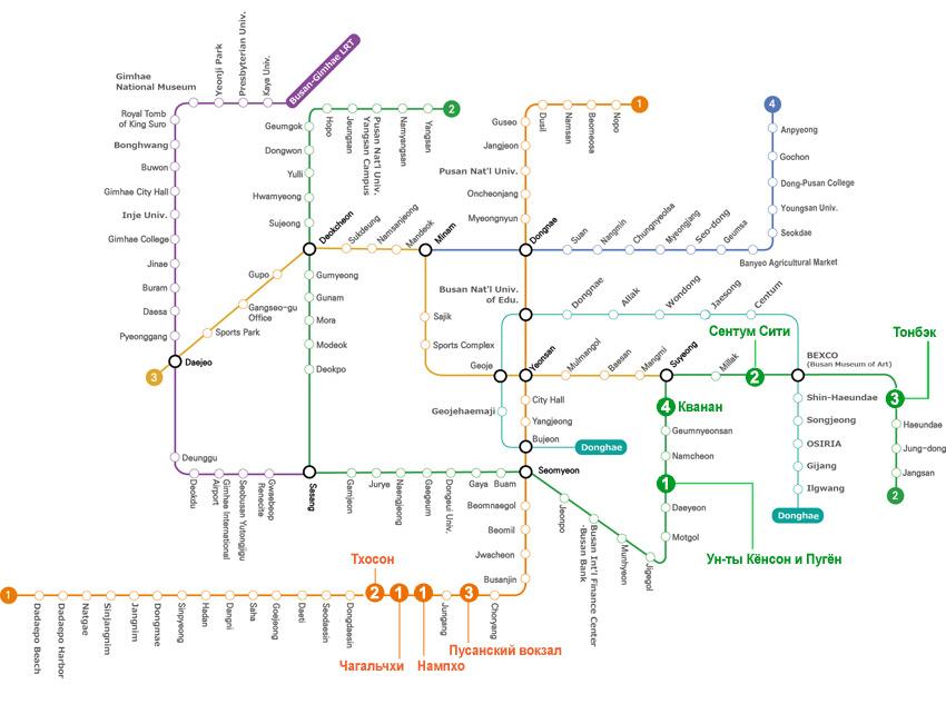 Главные достопримечательности по 1 линии метро
