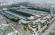 可楽市場(写真提供:ソウル市農水産物食品公社)