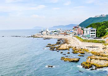 Cheongsapo coastline