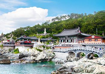 Photo: Scenes at Haedong Yonggungsa Temple