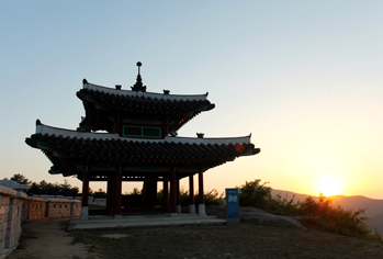 Sunset view of Namjangdae Command Post