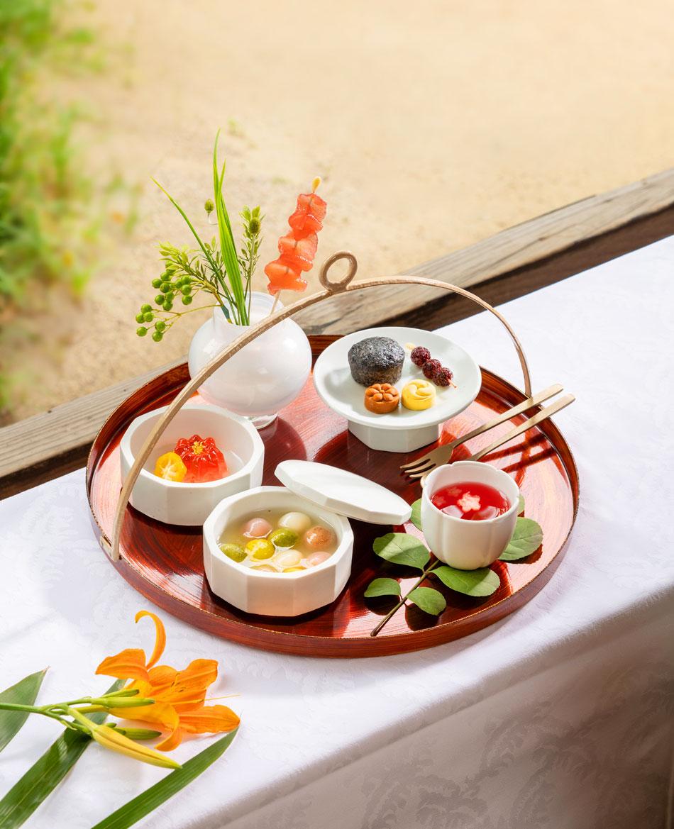 コリアハウスの宮中茶菓(提供:コリアハウス)