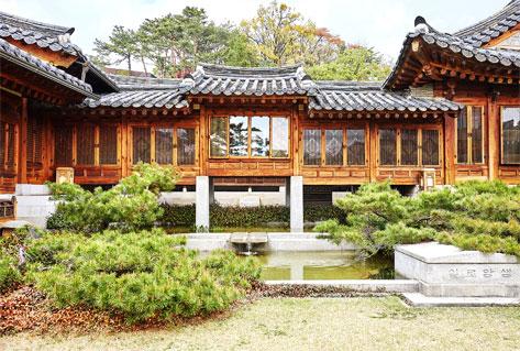 韓国家具博物館の建物