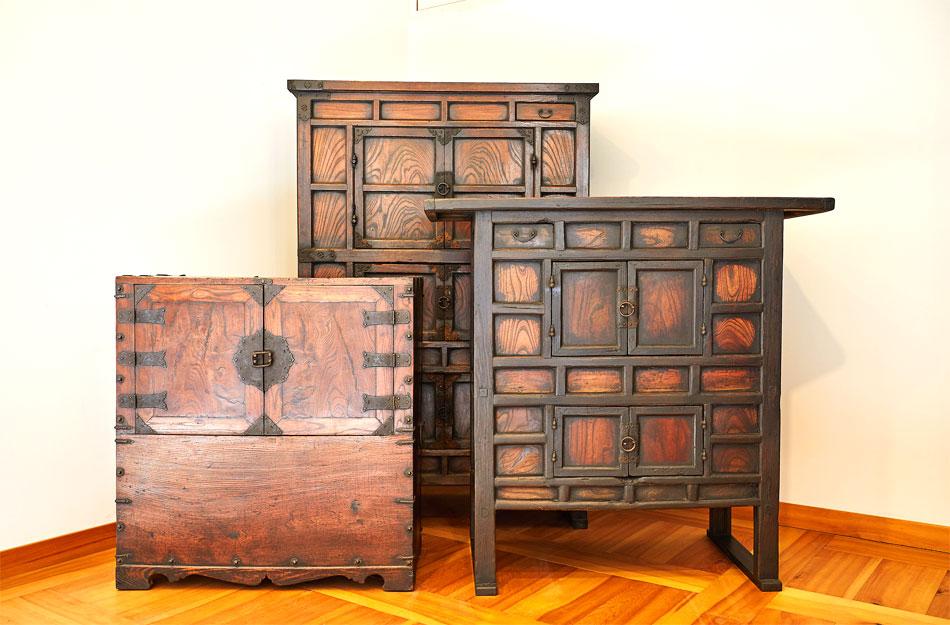 韓国家具博物館所蔵の伝統家具