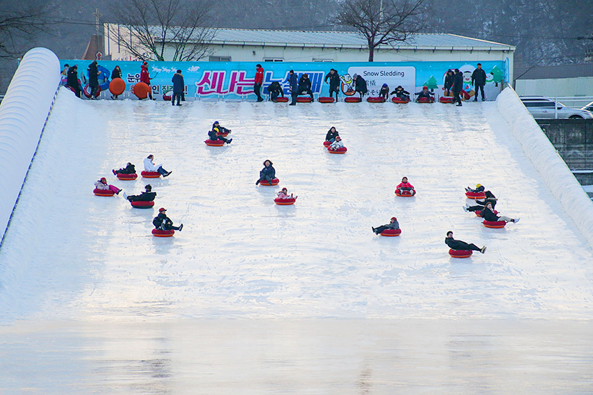Deportes de invierno durante el festival (Cortesía de la Fundación Nara, todas las fotos)