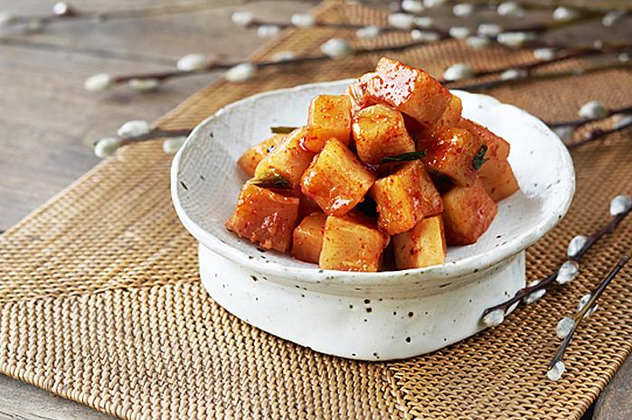 Kkakdugi: Diced Radish Kimchi