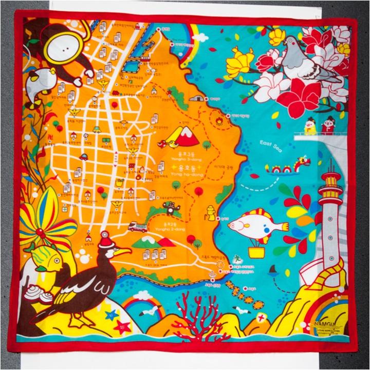Story of Busan / Story of Namgu (Handkerchief)