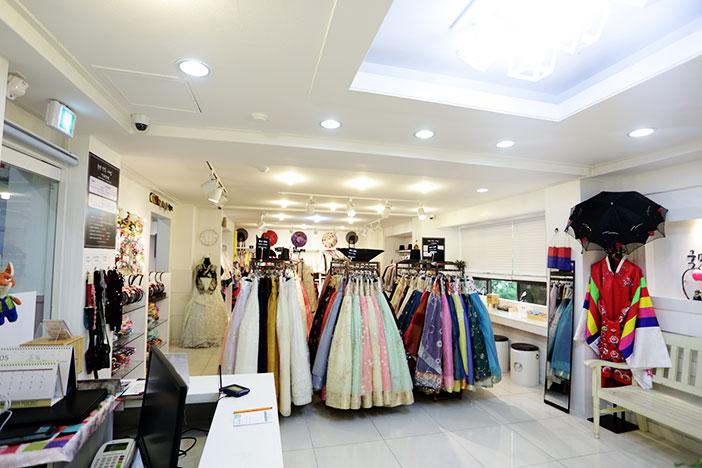 Sitio de alquiler de trajes tradicionales coreanos Kukmin Hanbok Chabim.