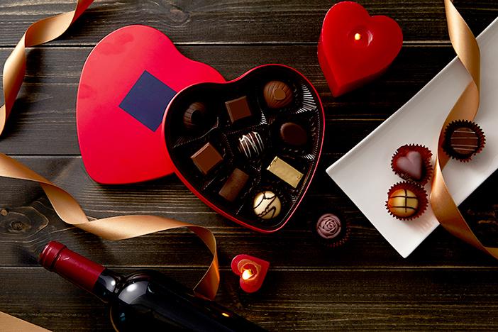 Des chocolats pour la Saint-Valentin