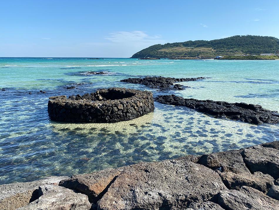 美しい済州島の自然