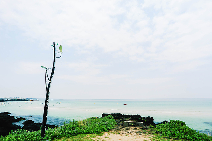 Jeju Hamdeok Beach