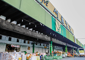 可楽市場(可楽洞農水畜産物市場)