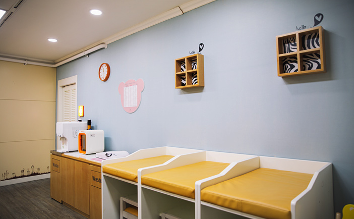Nursery & Kids Zone (right credit: Incheon International Airport)