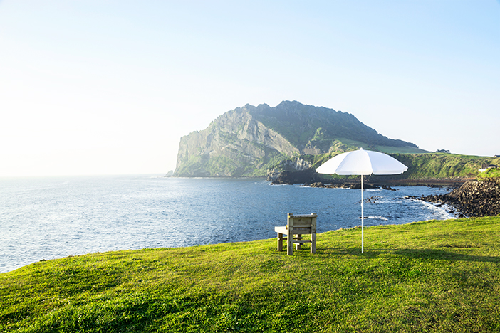 Jeju coastal scene