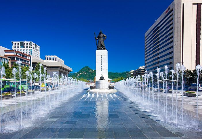 光化门广场(提供: 首尔市)