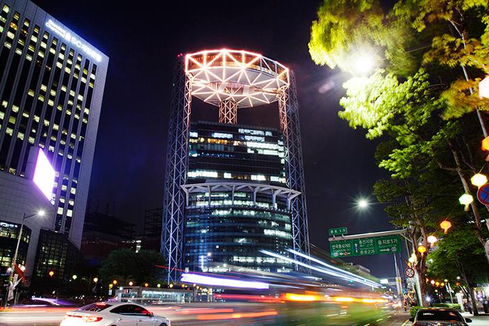 照片 : 钟路的夜景