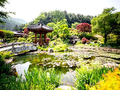 Sitios de relax en las afueras de Seúl