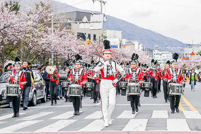 Jinhae Military Band and Honor Guard Festival