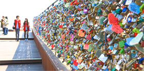 The key to love Namsan Tower
