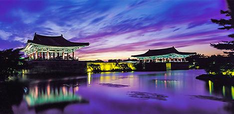 夜景の美しい都市、慶州・大邱・清道