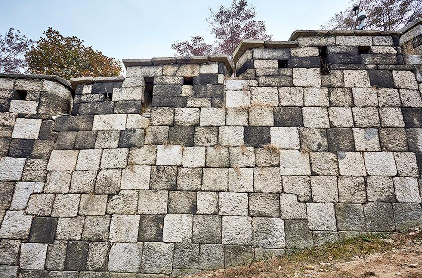 Отрезок Пэгак (Источник: Администрация Крепостной стены Ханяндосон)
