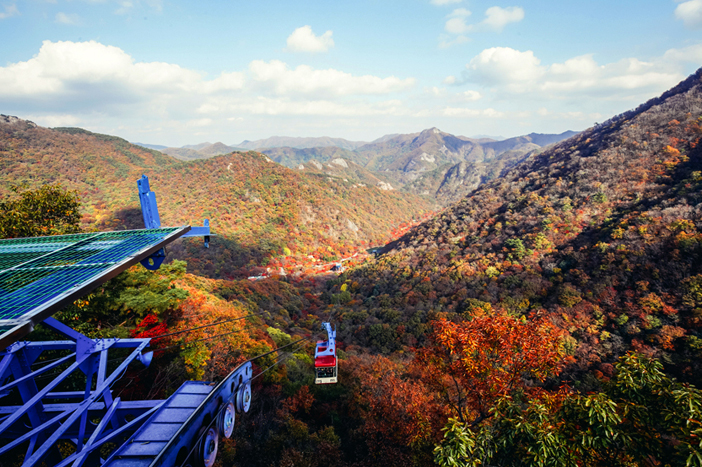Naejangsan Cable Car