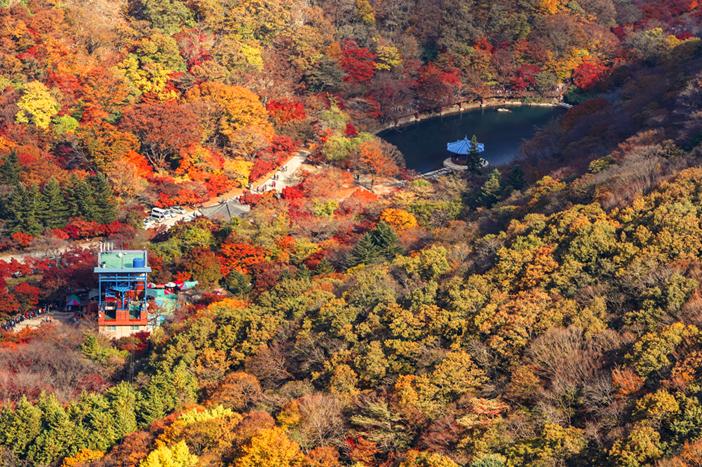Téléphérique du parc national Naejangsan