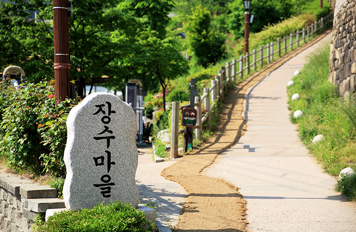 Attractions along Naksan Mountain Trail