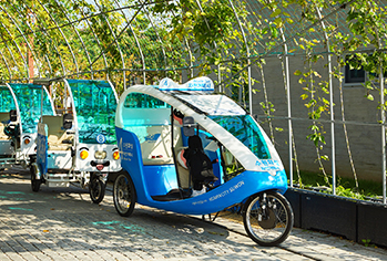 Bicycle taxi