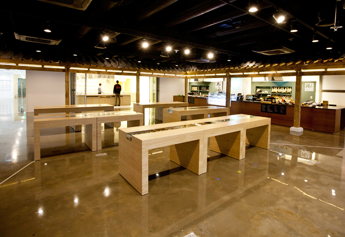 view of Korean Food Experience Hall, 4th floor