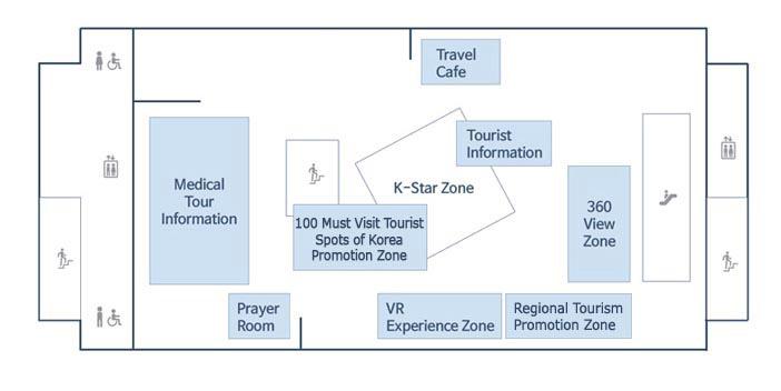 map of Tourist Information Center