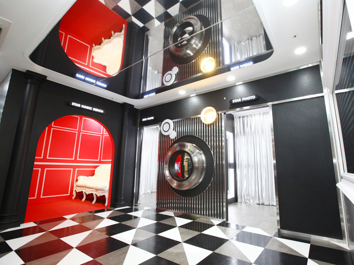 Hallyu Experience Hall (K-STAR) virtual experience space.