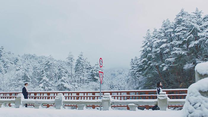 韩剧鬼怪中出现的月精寺般若桥 (提供: CJ E&M)
