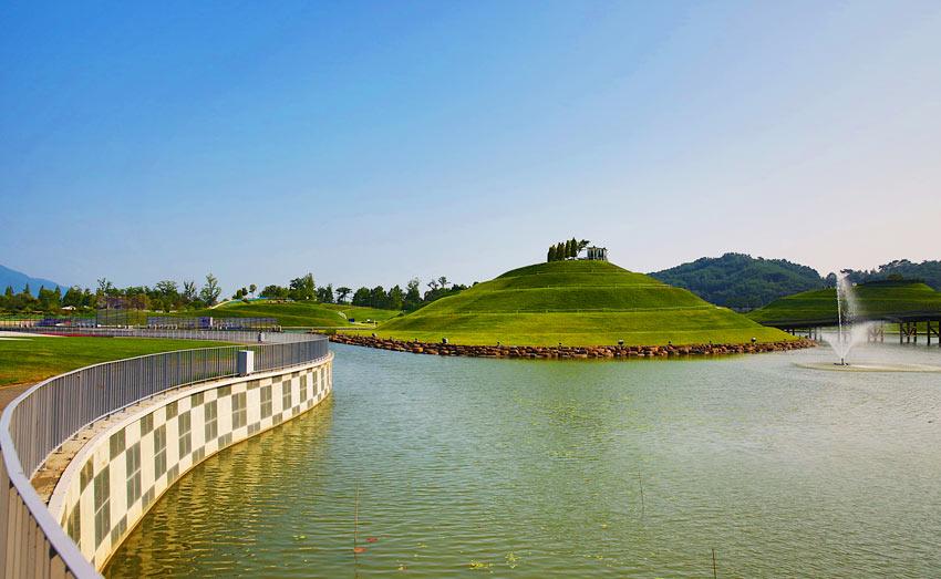Озёрный сад Сунчхон