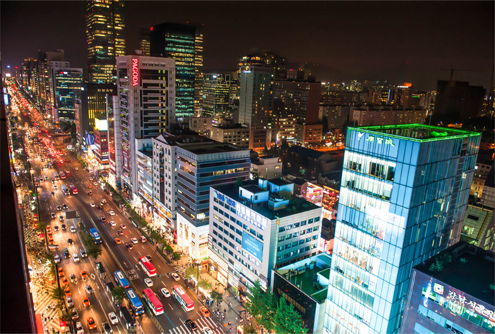 Gangnam-daero Avenue