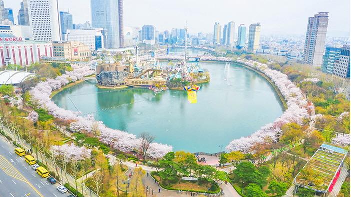 石村湖水(圖片來源:松坡區)